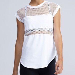 Forever 21 Mesh Active Top